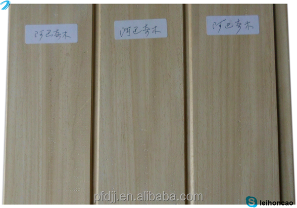 abachi african whitewood sauna wood types for sale
