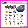 Soft PVC Jelly Flower Shoes Accessories