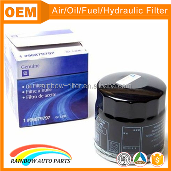 GM Chevrolet spin on wholesale oil filters 96879797