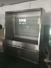 high pressure screen printing washing booth for aluminum frame
