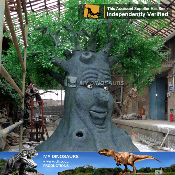 My-dino entertainment equipments wisdom talking tree in playground