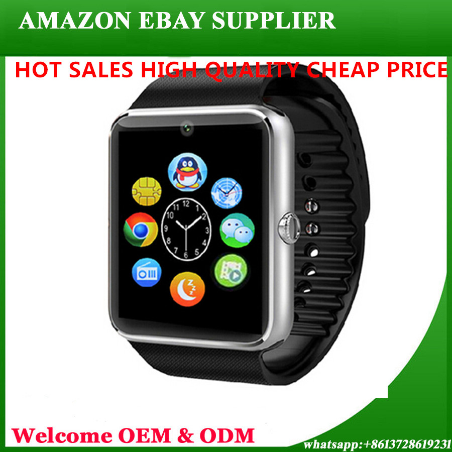 Aamzon Supplier Wholesale Smart Watch Mobile Phones Android Mens Women Lady Dz09 Bracelet Wrist Leather Sim 4G Kids Gps Luxury
