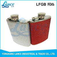 18/8 304 FDA and LFGB China Factory directly sale 3Oz stainless steel hip flask