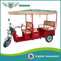 eco friendly battery operated electric auto rickshaw for sale