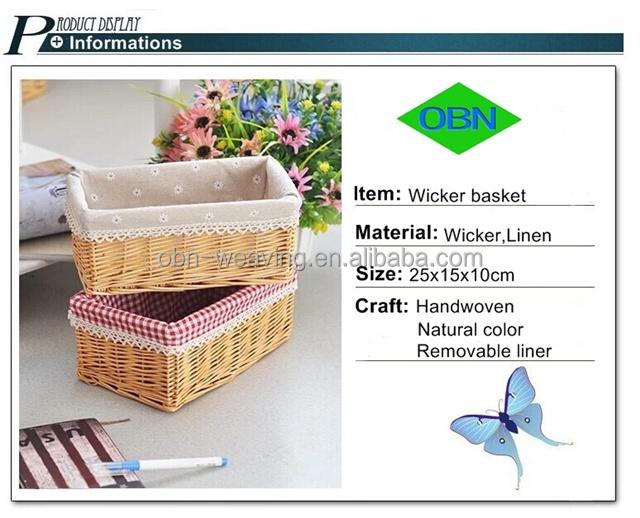 Woven Basket Procedure : Wholesale lining basket baby wicker hamper baskets buy
