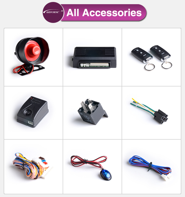 ultrasonic sensor output compound display remote control customized car alarms