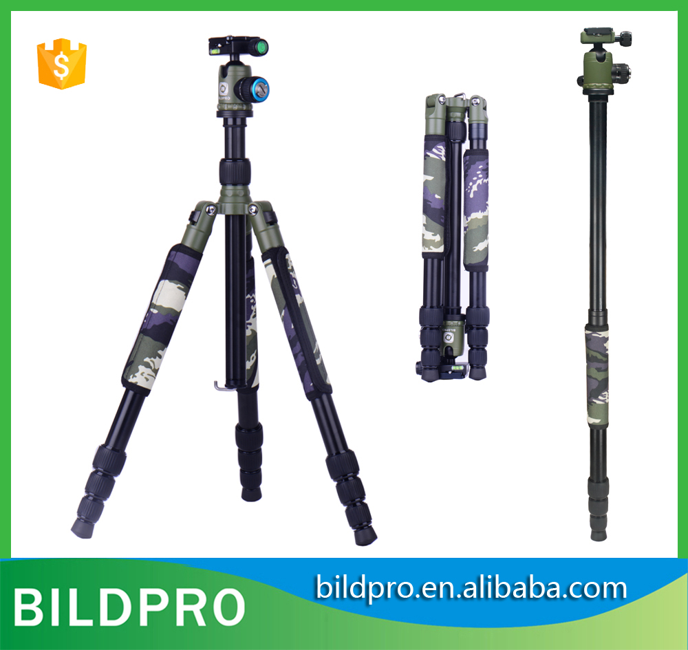 BILDPRO Studio Equipment Selfie Stick Monopod Professional Video Stand Action Camera Manfrotto Tripod with Ball Head