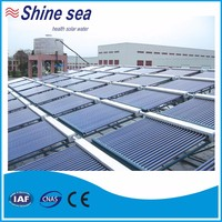 Manufacturer roof system solar water heater collector