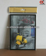 ZB-44 Popular 3d Motorcycle Pictures For Fabric Painting