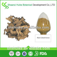 free sample 100% natural dried black cohosh extract