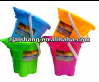 European Fashionable First Rate High Quality food grade plastic beach buckets and spades Bpa free