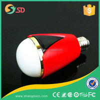 iphone control music flash bluetooth led g9 bulb SMD3014 high power dimmable 2700K to 6500K