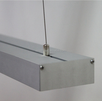 high output Suspended luminaires,customized length,recessed ,surface mount or supended installation,3000K/4000K/5000K/5700K