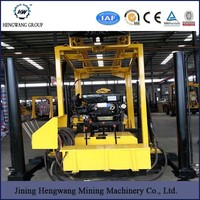 hydraulic underground water well drilling machine