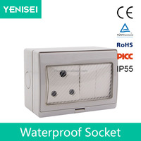 3 pin socket electrical socket,wall mounted power switch and outlet socket