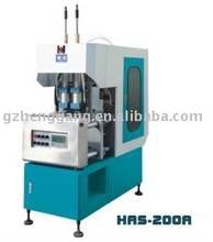 PET semi automatic plastic blow molding machine