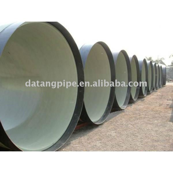 Epoxy ceramic composite pipe(black/white pottery)