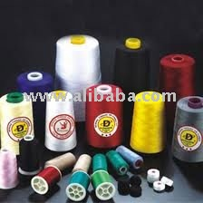 Polyester and Cotton Sewing Yarn