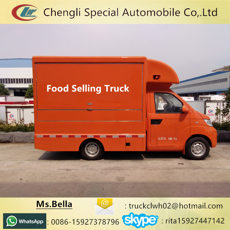 Customized Mobile Food Truck for Fried Chicken Beer Snack Mobile sale