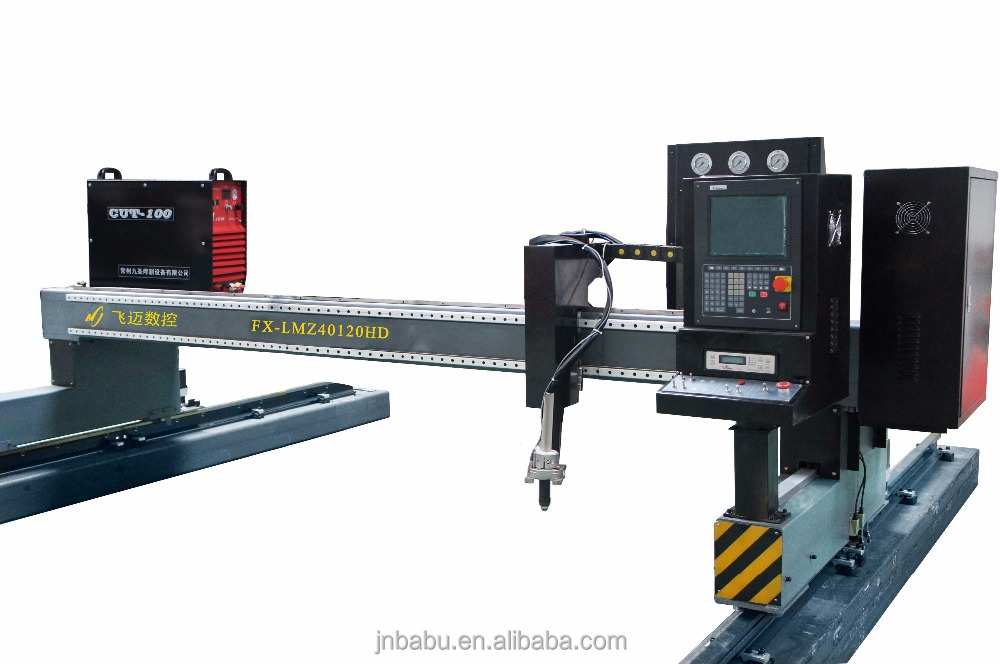Gantry Plasma CNC Cutting Machine With Plasma Torch