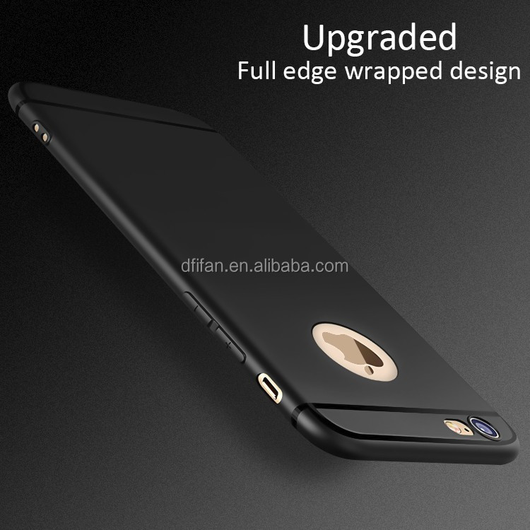 DFIFAN China supplier tpu phone case for i phone 6 ,TPU Matte Phone Back Cover for iphone 6s plus cases