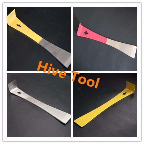 Hot sale 7 pcs plastic bee automatic honey flow frame for beekeeping tools