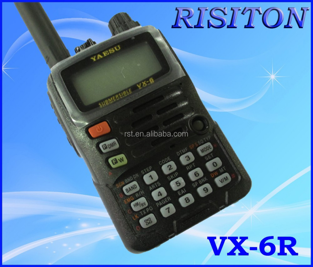 walkie talkies voice activated yaesu walkie talkie VX6R ham radio
