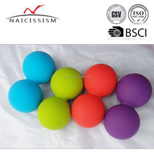 Peanut shape Lacrosse Ball for back massage
