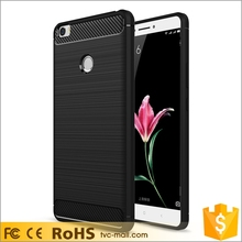2017 Newest Phone Case Carbon Fibre Brushed TPU Case for Xiaomi Mi Max Cell Phone Case