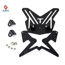 Nice Look Well-advised Universal Motorcycle License Number Plate Holder Bracket Hanger Tail