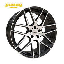 "Zumbo-RS7 22"" Black face machined Alloy Wheels Rim factory price amg wheels replica car wheel rims"