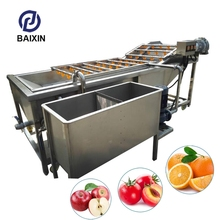 Hot Sale Commercial Blueberry Cleaning Mango Carrot Washer Tomato Date Apple Washing Machine