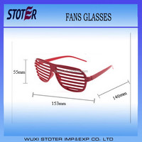 red sports sunglasses