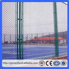 2016 New! Playground Used 9 Gauge Diamond Wire Fencing PVC Coated Chain Link Fence(Guangzhou Factory)