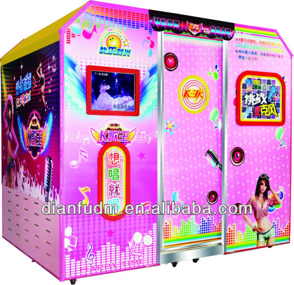 karaoke arcade game machine/jukebox game machine/video singing game machine