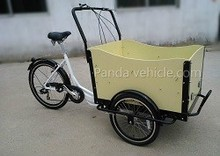 Cheap high quality manpower pedals three wheel cargo tricycle/bike/bicycle for sale