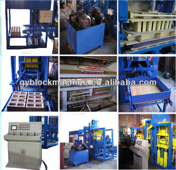 best sellers for 2013 GYM-QTY3-13 fully automatic cement block making machine