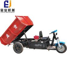 Popular 3 wheel cargo electric tricycle three wheeler manufacturer in india with Dumper
