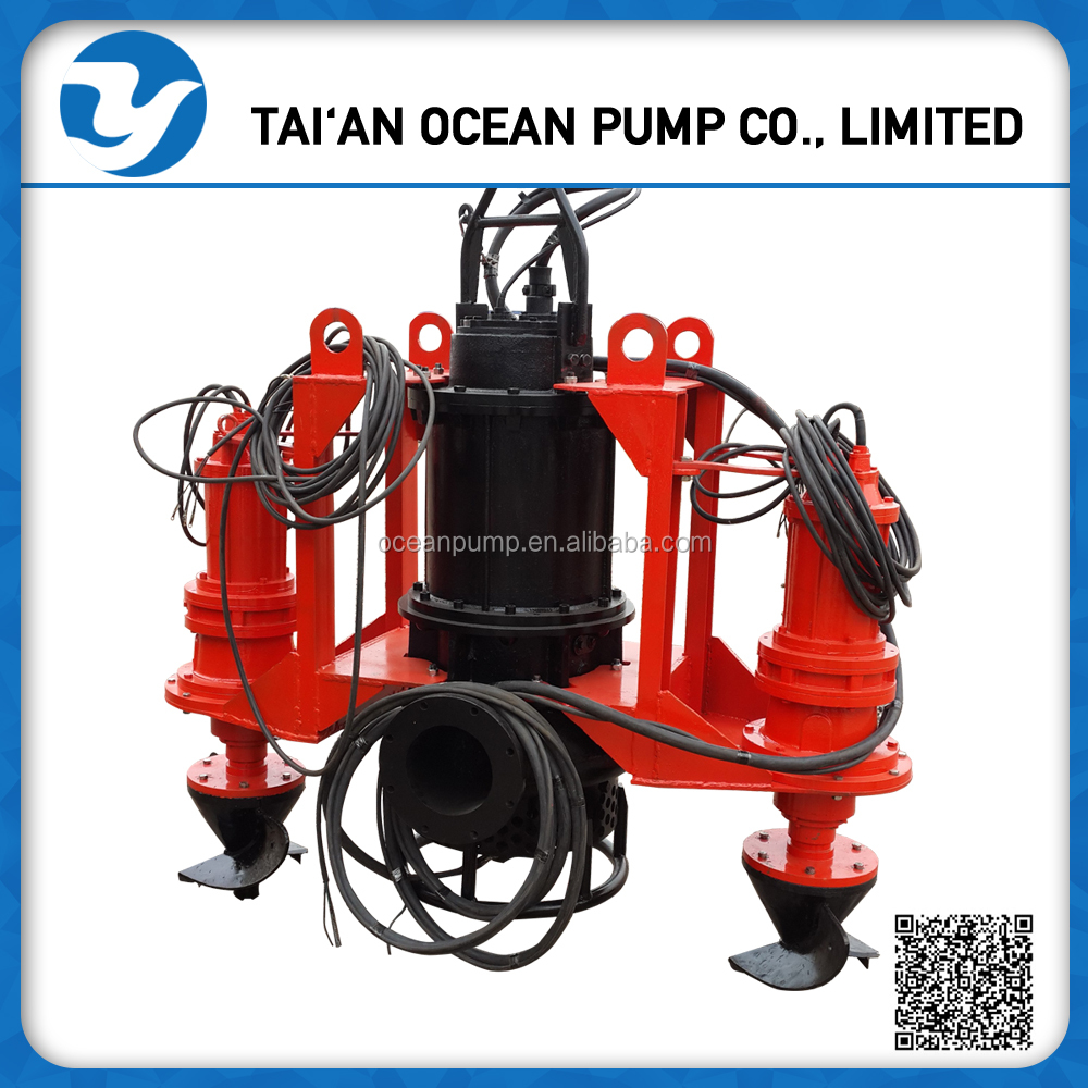 Submersible Ash Slurry Pump with Agitation impeller