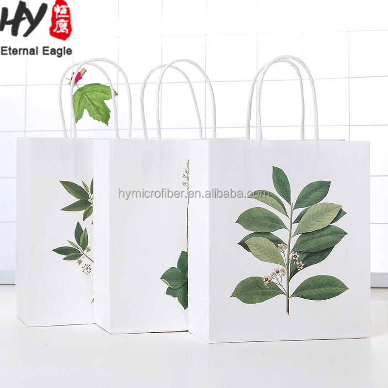 Multifunctional rice flour kraft paper bag with high quality