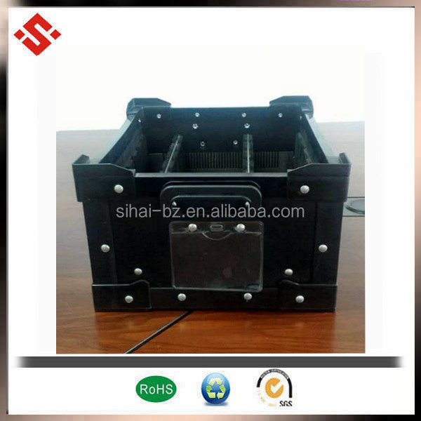 ESD polypropylene turnover box ESD divider box any specification