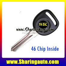Best quality 46 Chip Transponder Key With Circle Plus For Chevrolet