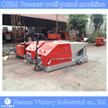 Lightweight foaming EPS concrete hollow core wall panel machine equipment