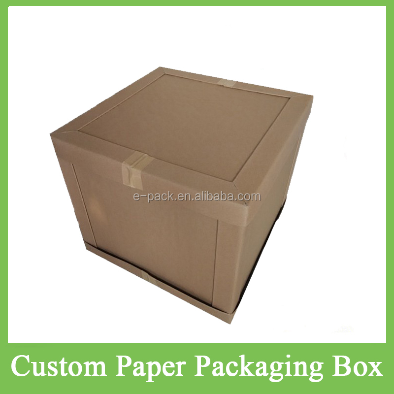 Wholesale Custom Cardboard Kraft Paper Honeycomb Packaging Carton Boxes with Custom Logo Printed for Transport/Warehouse Packing