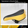 Mountain Bike Bicycle Soft Leather Hollow Comfortable Saddle Seat Black