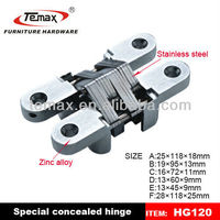 Decorative small box hinges