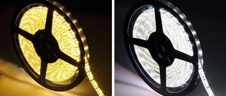 14.4W/M SMD2835/3528 DC12V/24V led light strip / christmas led strip light outdoor use