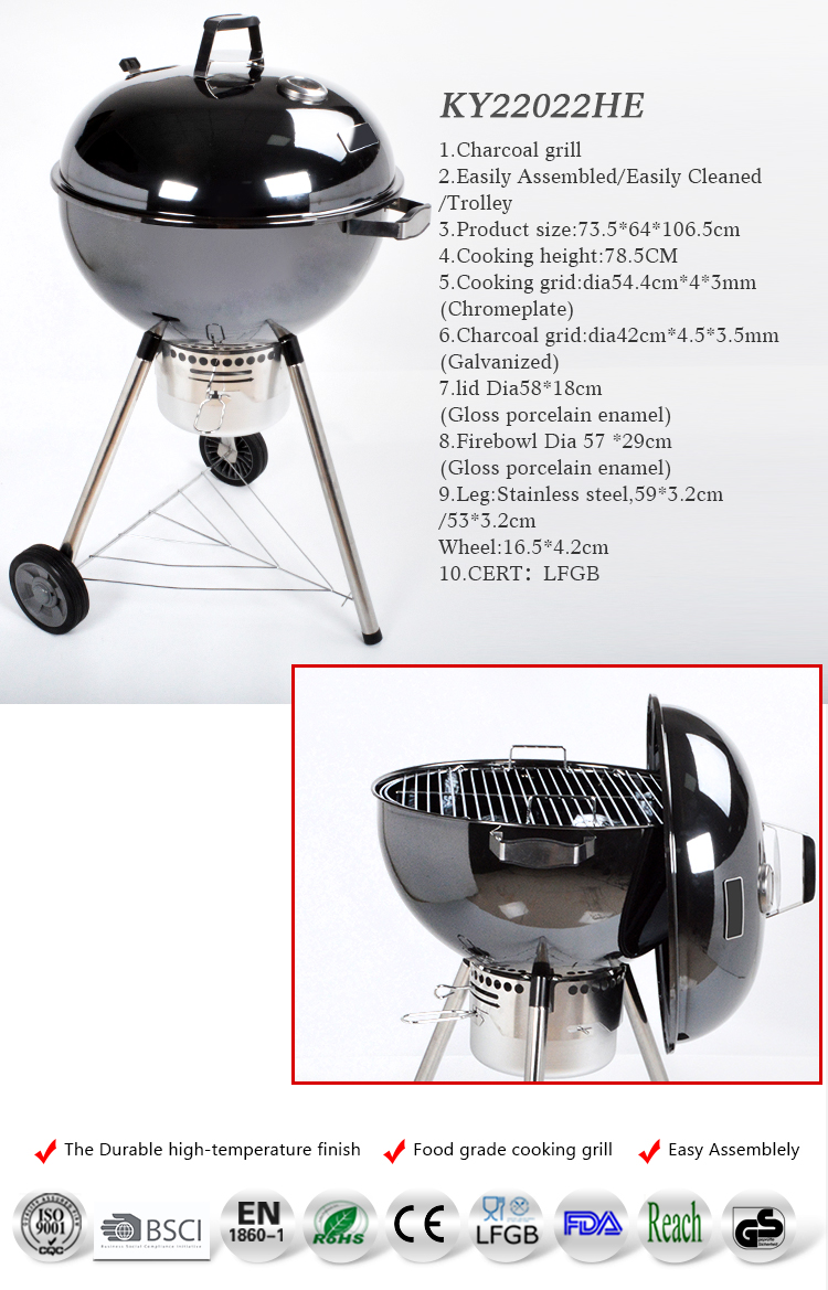 premium garden camping barbecue outdoor charcoal BBQ Grills
