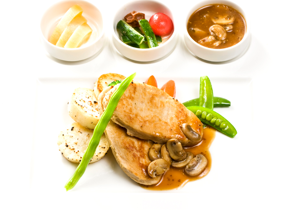 Vege chicken breast vegetarian mock meat soy bean protein products