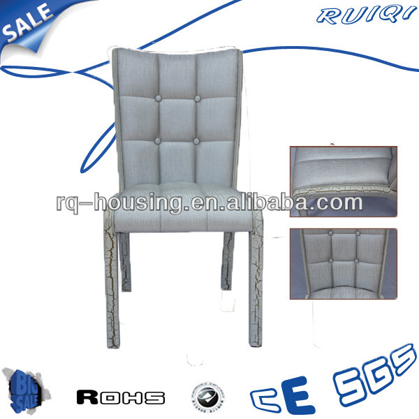 Sliver leather wooden chair,wood antique okey furniture Lxury Classic Chairs